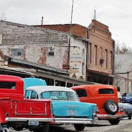 Streets of Austin NV by Mary Dayton - City,  Street & Park  Historic Districts