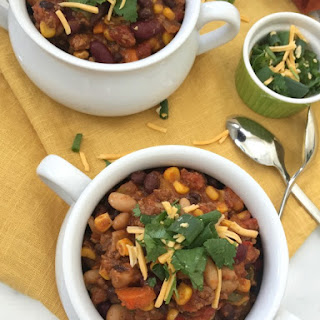 Slow Cooker Chipotle Beef Chili