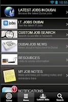 Screenshot of Jobs In Dubai: Job Search LITE