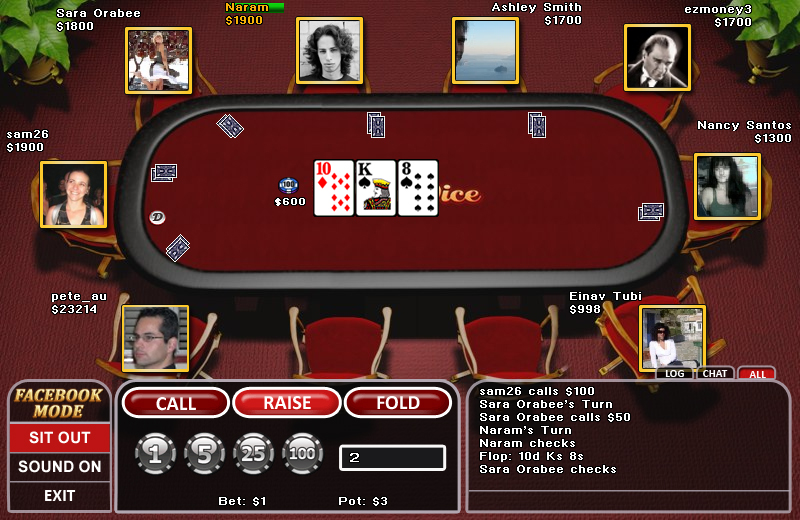Multiplayer Championship Poker
