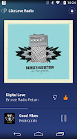 Screenshot of Pandora® Radio