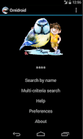 Screenshot of Ornidroid
