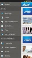 Screenshot of KPMG Malta
