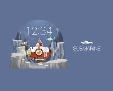 Submarine watchface by Lluvia Screenshot