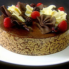Sacher And Raspberry Cake