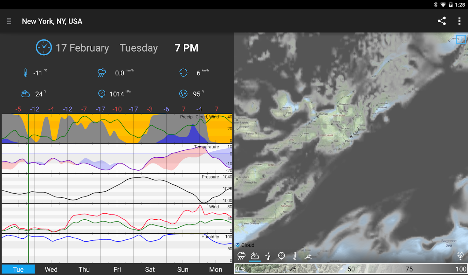 WeatherBomb Screenshot 9