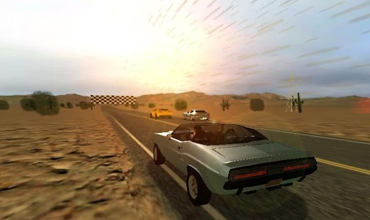 Route 66 Racer Pro - screenshot