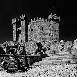 The Castle by Jorge Orfão - Buildings & Architecture Statues & Monuments ( building, ceiling, buildings, ceilings, architecture )