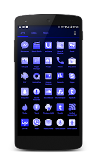 Shades Blue Icon Pack - screenshot