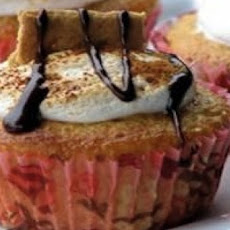 Sunshine S'more Cupcakes