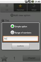 Screenshot of Chooser