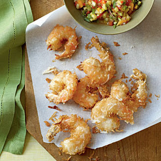 Coconut Shrimp with Pineapple Salsa