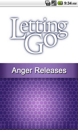 Letting Go Anger