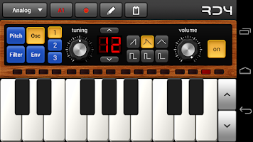 Screenshot of RD4 Groovebox Demo