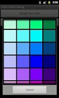Screenshot of Color Picker Sample