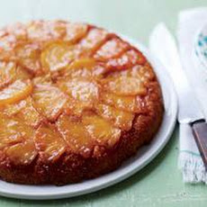 Pineapple Upside-Down Corn Cake