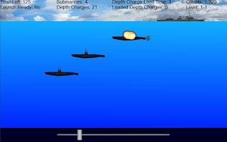 Screenshot of Submarine Destroyer