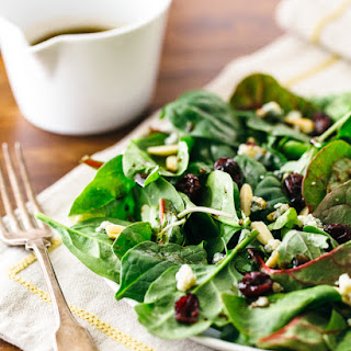 Simplest Green Salad with Balsamic Vinaigrette