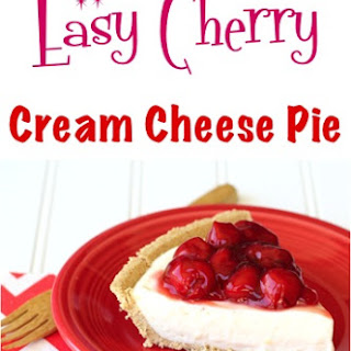 Easy Cherry Cream Cheese Pie Recipe!