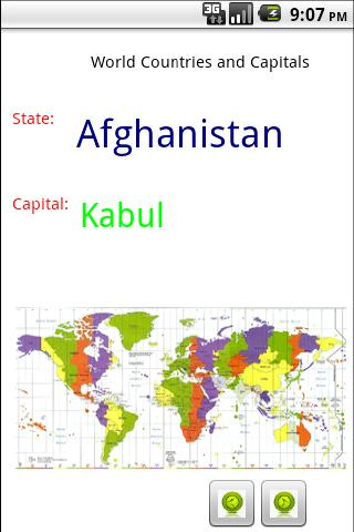【免費教育App】World Countries & Capitals-APP點子