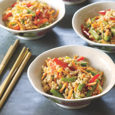 Stir-Fried Buckwheat