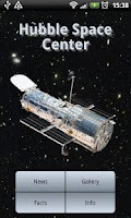 Screenshot of Hubble Space Center