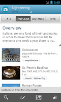 Screenshot of Rome Travel Guide by Triposo