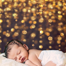 Dreamy Newborn by Darya Enchanted Images - Babies & Children Babies ( snuggly, sleeping, baby, boy, newborn )