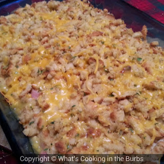 Skinny Chicken Cordon Bleu Bake