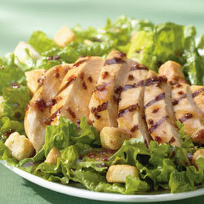 Grilled Chicken Salad Vinaigrette