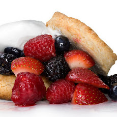 Mixed Berry Shortcakes with Whipped Cream Recipe