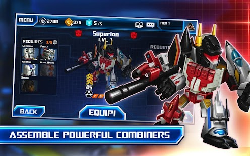 transformer battle tactics apk