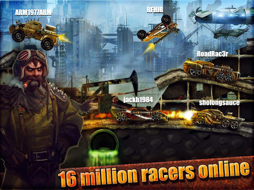 RoWarrior: Best Racing Game - screenshot