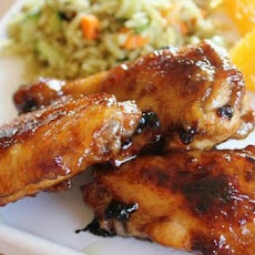 Hot 'n Honeyed Chicken Wings
