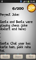 Screenshot of Best Funny Jokes(Hindi)