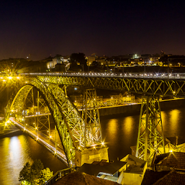 Luis I bridge (Oporto) by Jose Moreira - Buildings & Architecture Bridges & Suspended Structures ( oporto, bridge, portugal, porto )