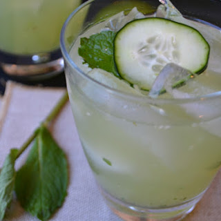 "Cucumber Cocktail ""The Spa"""