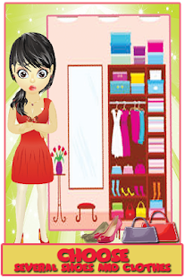 Wardrobe full of Girls Dresses - screenshot
