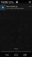 Screenshot of IntlPrefix