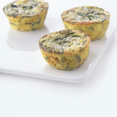 Individual Zucchini Frittatas with Pecorino and Chives