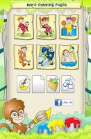 Screenshot of Sports Coloring Game
