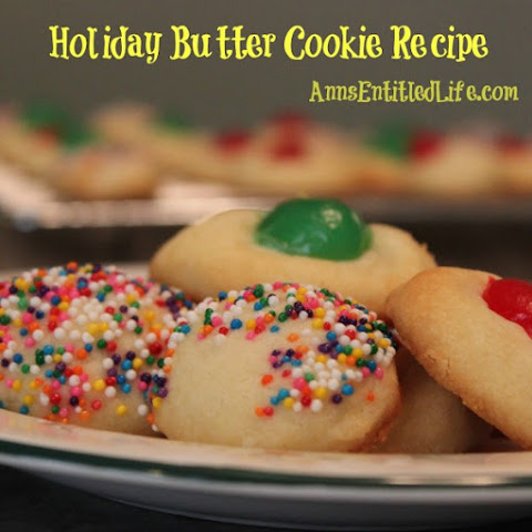 Holiday Butter Cookie