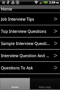 Interview Questions - screenshot