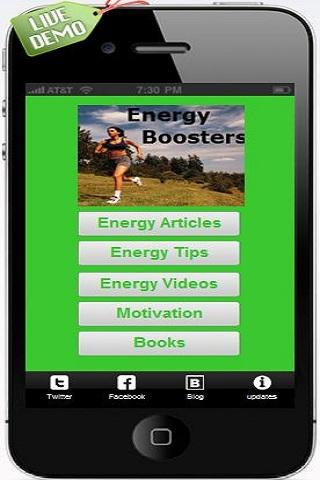 Energy Boosting Tips