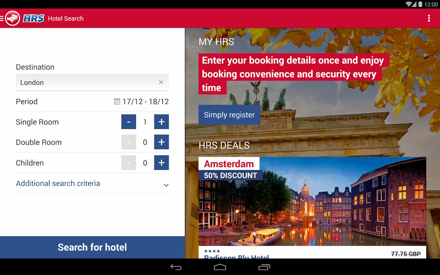 Hotel Search HRS (New) Screenshot 8