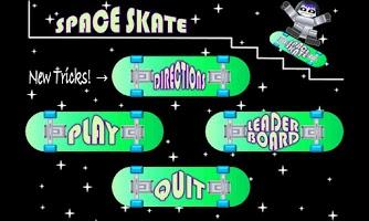 Screenshot of SPACE SKATE skateboarding