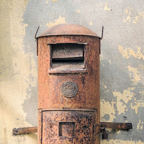 Now just Memories by Topu Saha - Artistic Objects Other Objects ( mail, old, postbox )