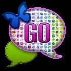 GO SMS - Diamond Rainbow Sky icon