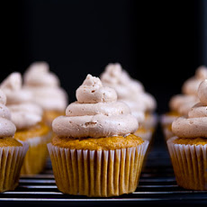 Golden Beet Cupcakes with Dulce De Leche