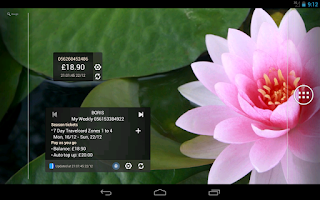Screenshot of London Oyster Balance +